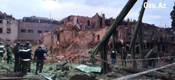 Азербайджан обвинил Армению в обстреле Гянджи: погибли 7 человек, десятки ранены (ФОТО)