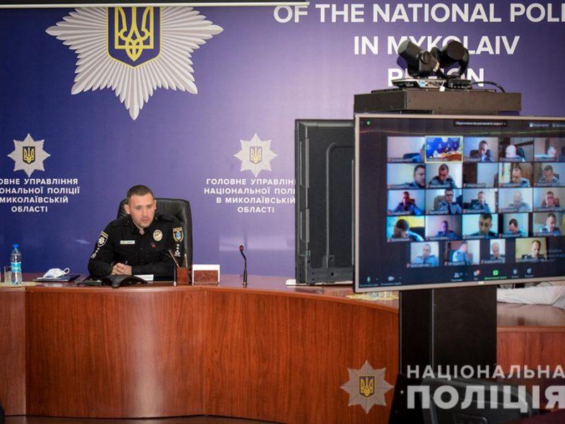 На Николаевщине полиция усилит внимание к соблюдению карантина: и в своих рядах, и в торговых и развлекательных заведениях (ФОТО)