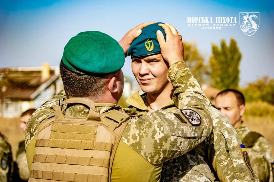 Николаевские морпехи давали Клятву морского пехотинца в Широкино (ФОТО) 5