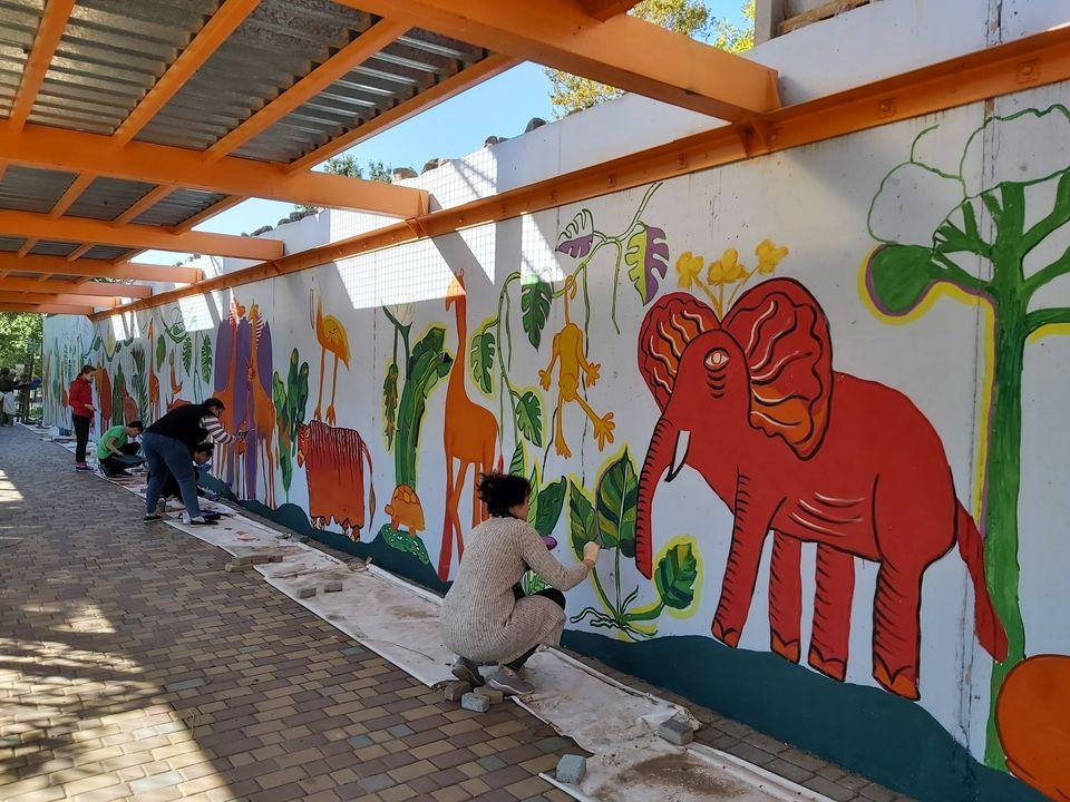 Детская художественная школа готовит большой подарок Николаевскому зоопарку к 120-летию (ФОТО) 7