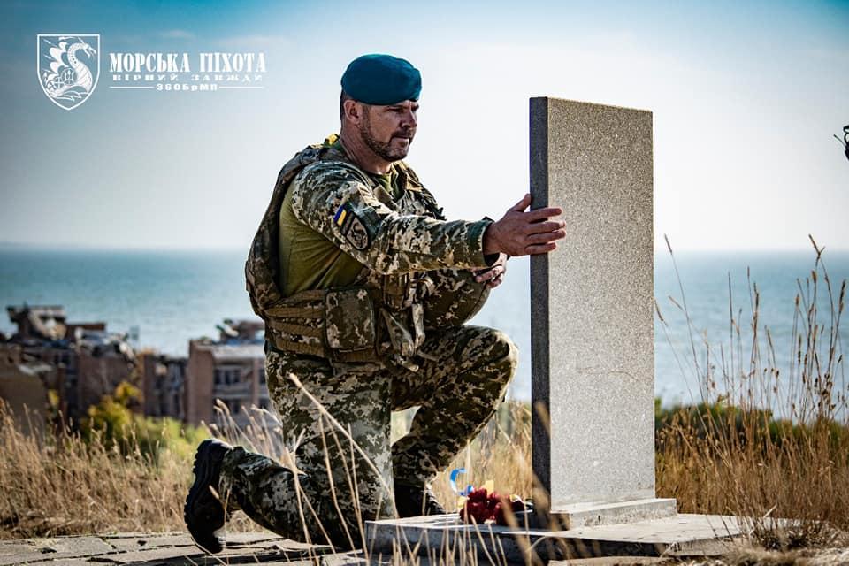 Николаевские морпехи давали Клятву морского пехотинца в Широкино (ФОТО) 7