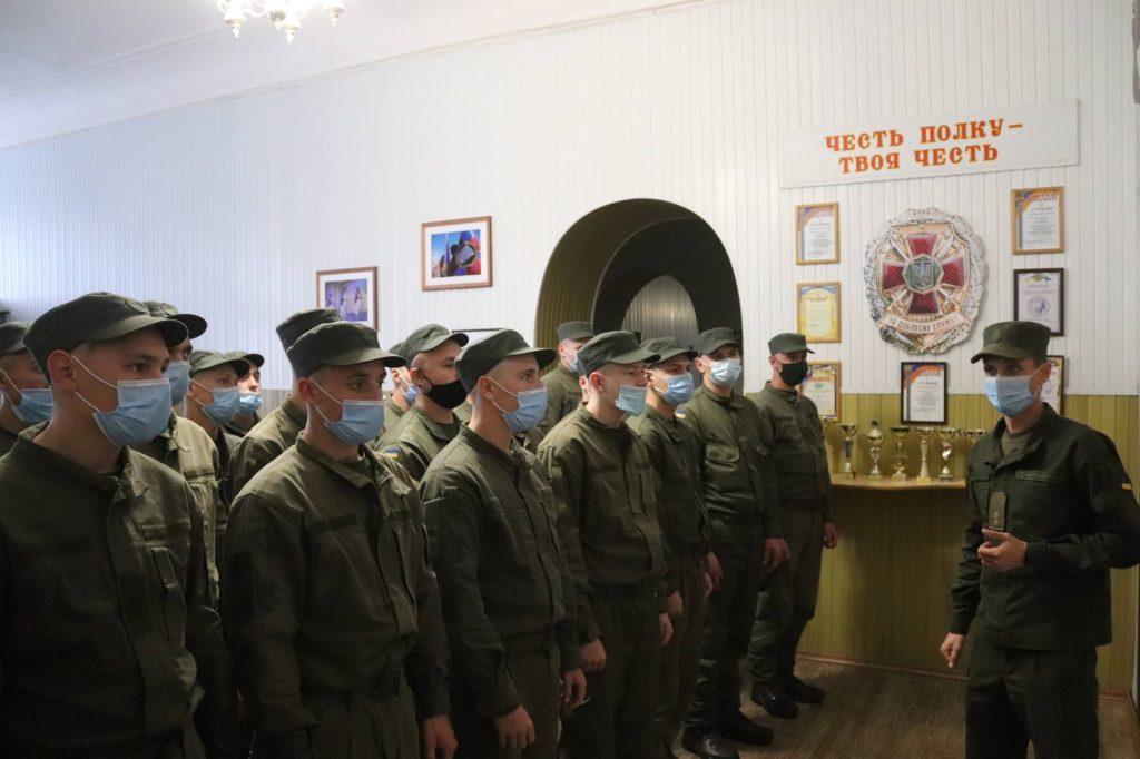 Николаевский полк Национальной гвардии пополнился сотней новобранцев (ФОТО) 9
