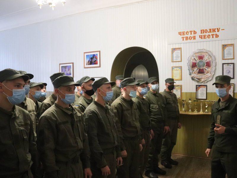 Николаевский полк Национальной гвардии пополнился сотней новобранцев (ФОТО)