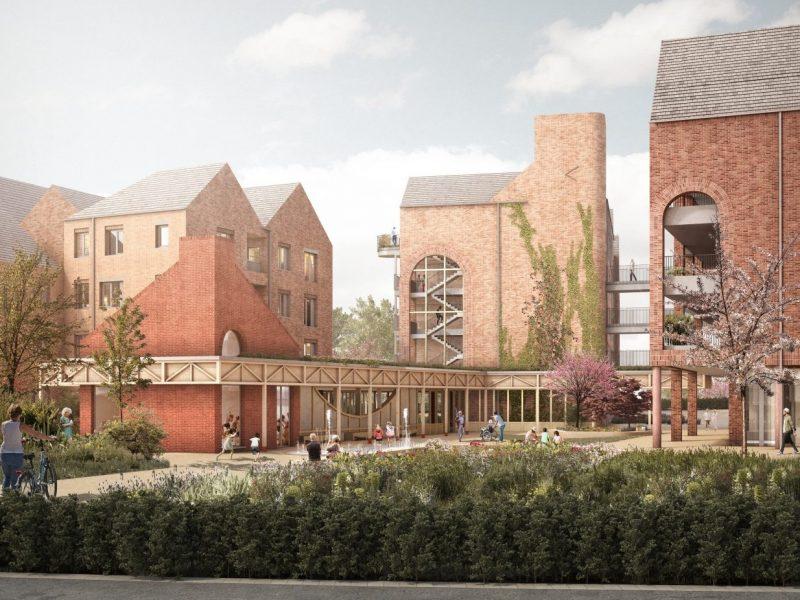 В Великобритании хотят построить деревню для пенсионеров с нулевым выбросом углерода (ФОТО)