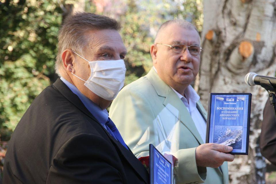 В Николаеве открыли мемориальную доску выдающемуся кораблестроителю, Почетному гражданину города Ивану Виннику (ФОТО) 9