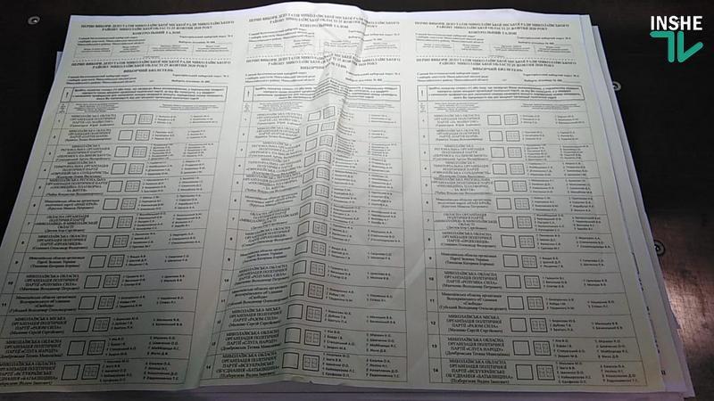 Выборы депутатов горсовета и мэра Николаева: бюллетени выдали, формы и брак уничтожили (ВИДЕО, ФОТО)
