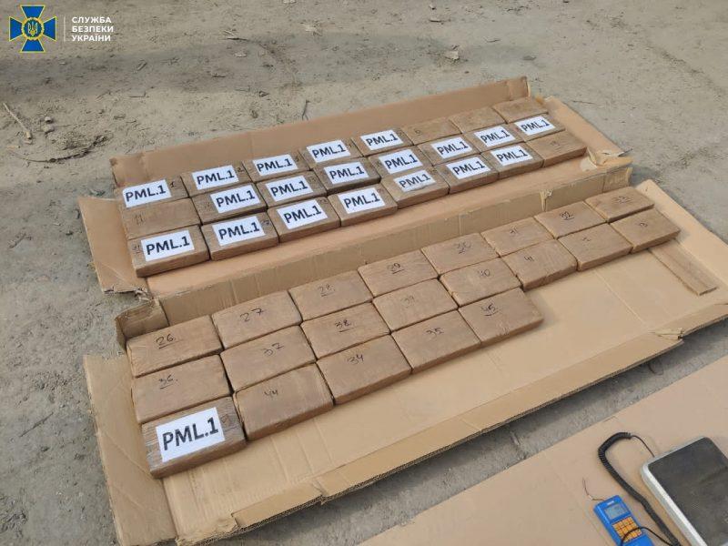 В Одессу в контейнере с фруктами прибыл груз кокаина на 10 млн.долларов – СБУ его задержала (ФОТО, ВИДЕО)