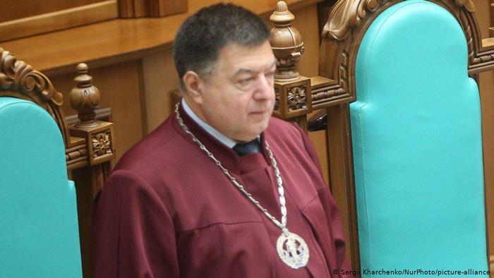 Глава Конституционного суда Тупицкий: Роспуск КС – угроза для территориальной целостности Украины