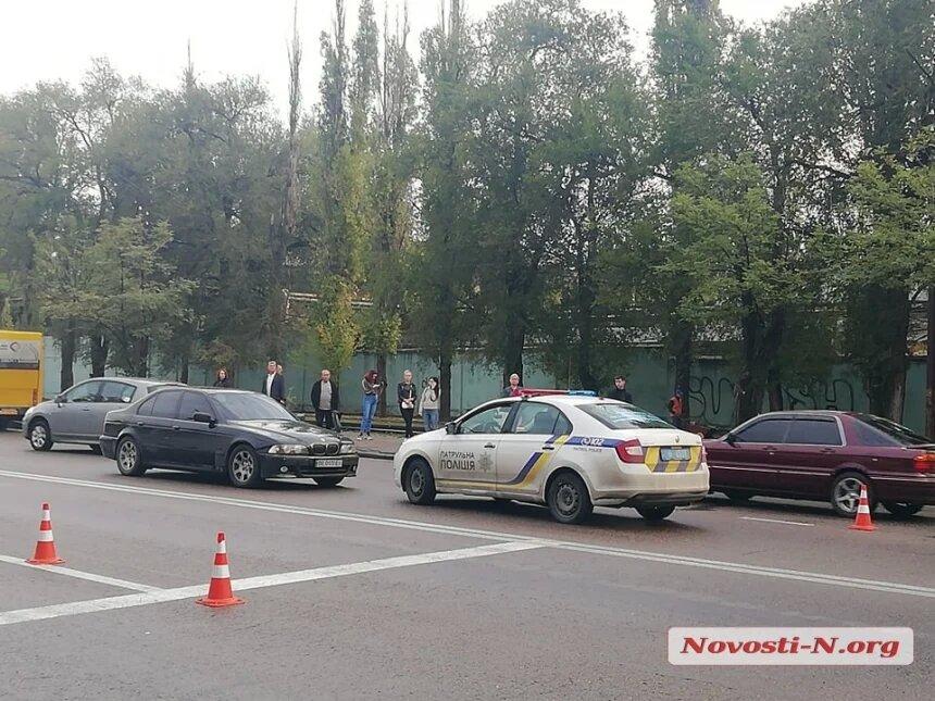 В Николаеве водитель «Шевроле» сбил бабушку: на проспекте Богоявленском образовалась пробка (ФОТО) 3