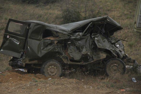 Азербайджан заявил о прорыве линии обороны в Нагорном Карабахе (ФОТО) 5