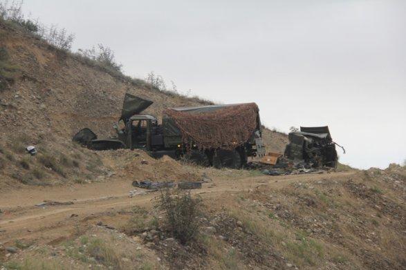 Азербайджан заявил о прорыве линии обороны в Нагорном Карабахе (ФОТО) 1