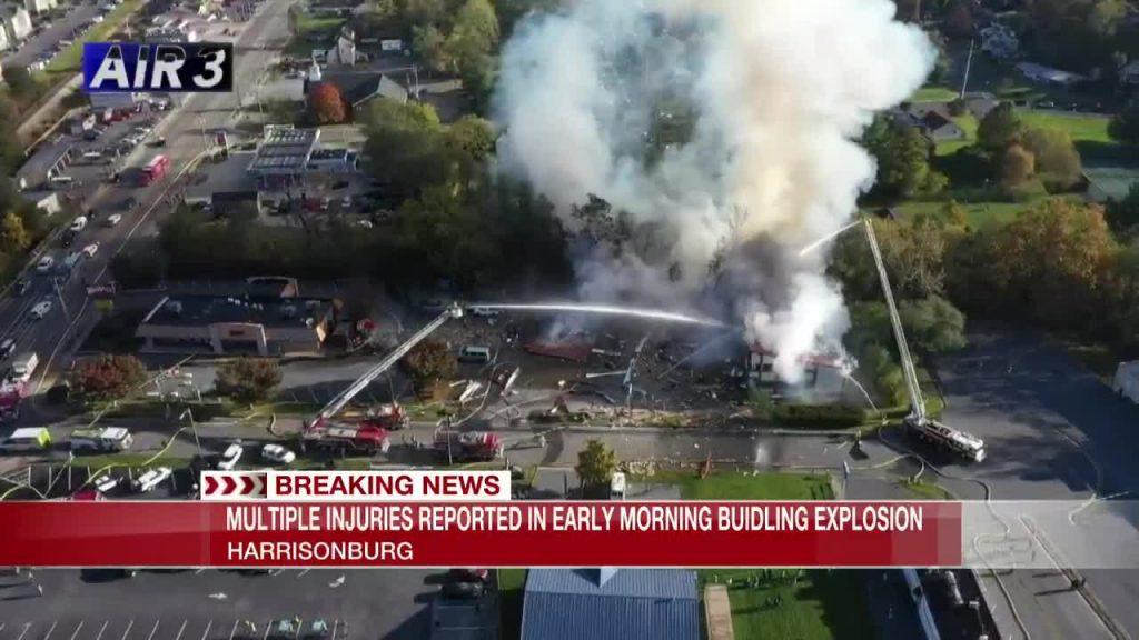 В США произошел взрыв в торговом центре 3