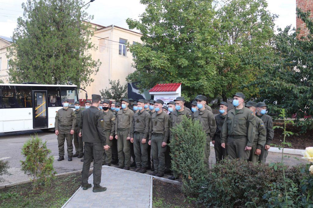 Николаевский полк Национальной гвардии пополнился сотней новобранцев (ФОТО) 11
