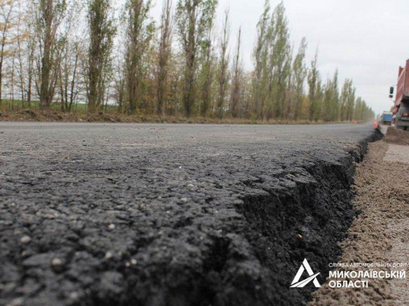 Начальник САД в Николаевской области проверил ход ремонта дорог на Очаков (ФОТО)