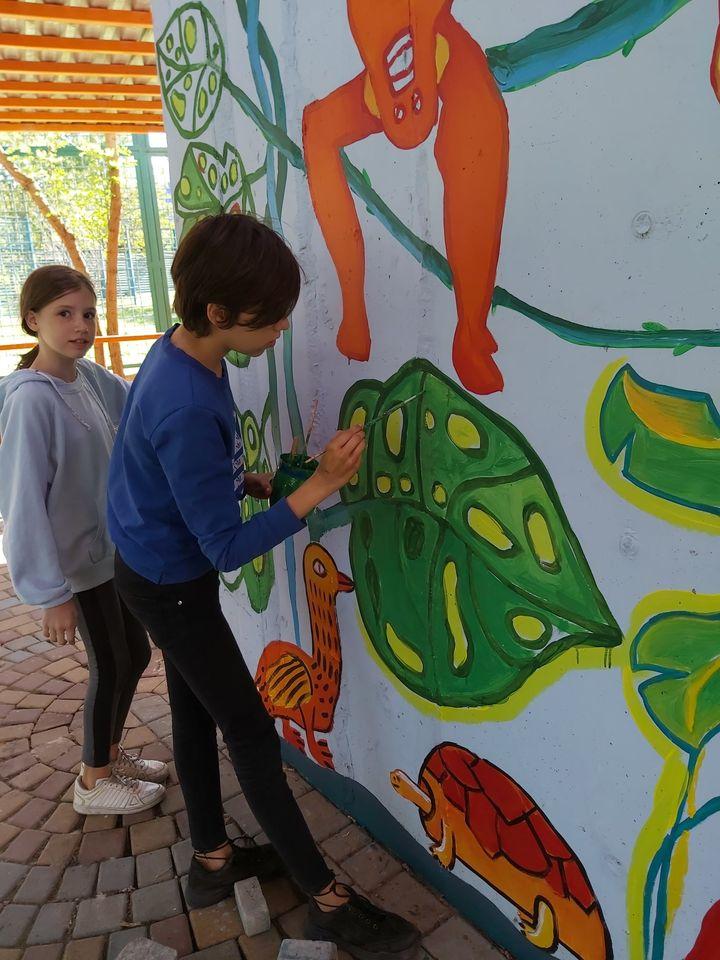 Детская художественная школа готовит большой подарок Николаевскому зоопарку к 120-летию (ФОТО) 13