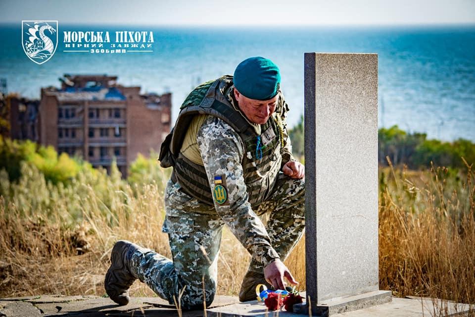 Николаевские морпехи давали Клятву морского пехотинца в Широкино (ФОТО) 13