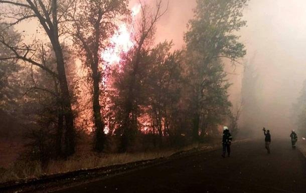 Масштабные пожары на Луганщине: 4 погибших, местные обвиняют оккупантов (ВИДЕО)