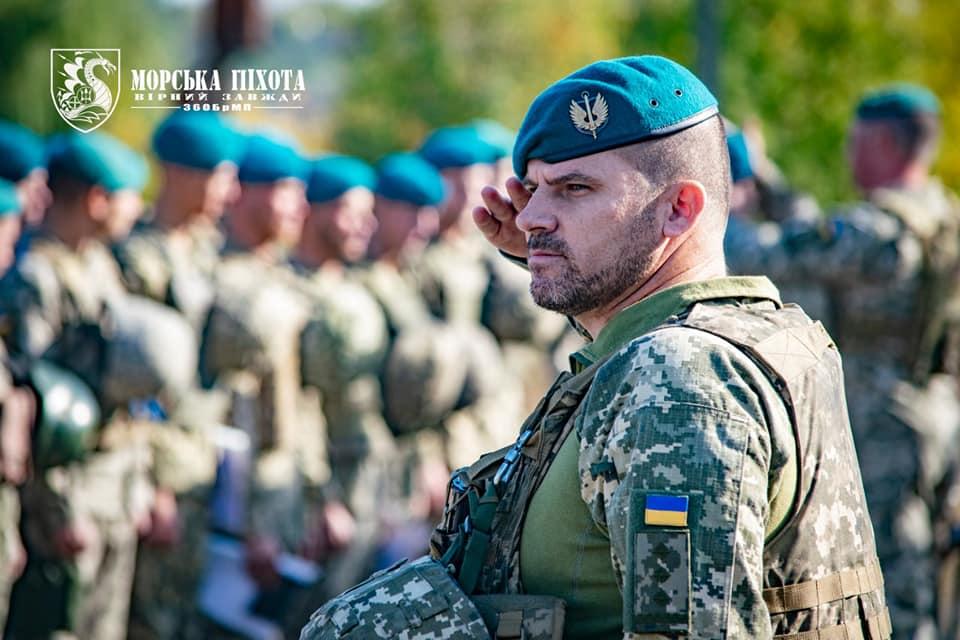 Николаевские морпехи давали Клятву морского пехотинца в Широкино (ФОТО) 17