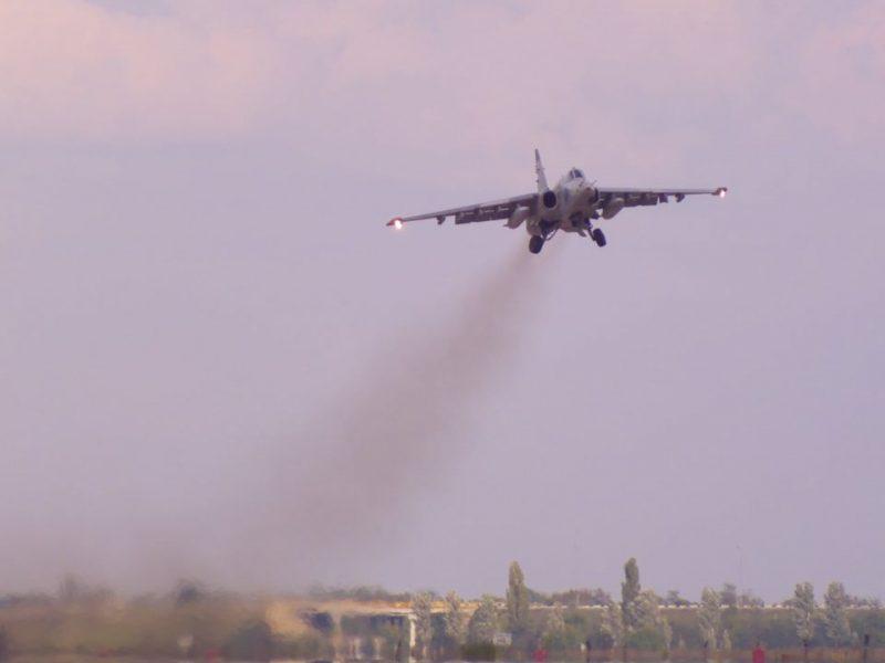 Николаевские летчики отработали очередную летную смену (ФОТО)