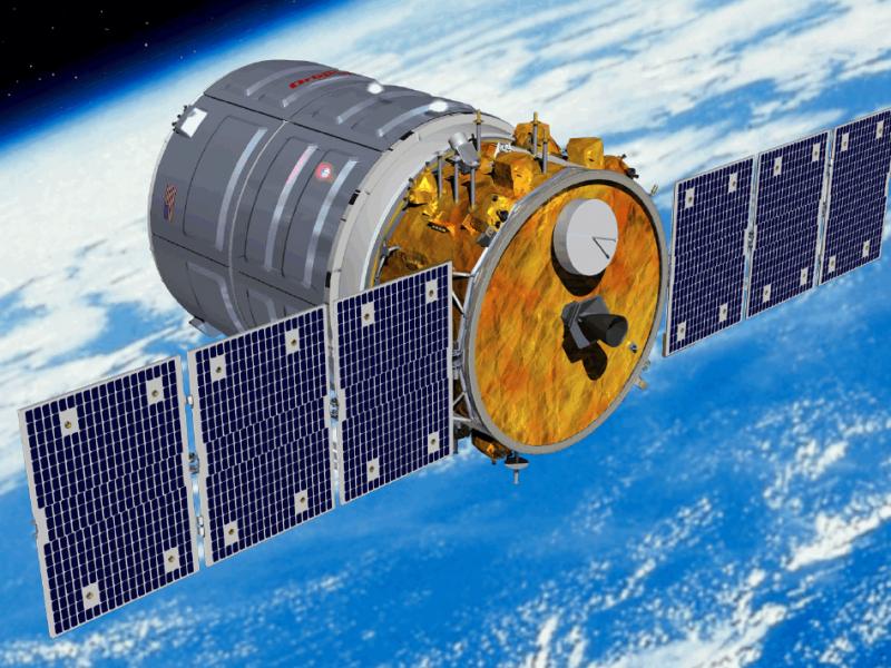 Запуск грузового космического корабля Cygnus отменили за две минуты до старта