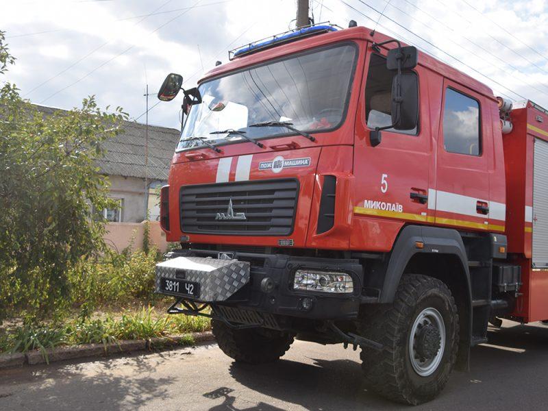 В Николаеве на пожаре погиб мужчина (ФОТО)