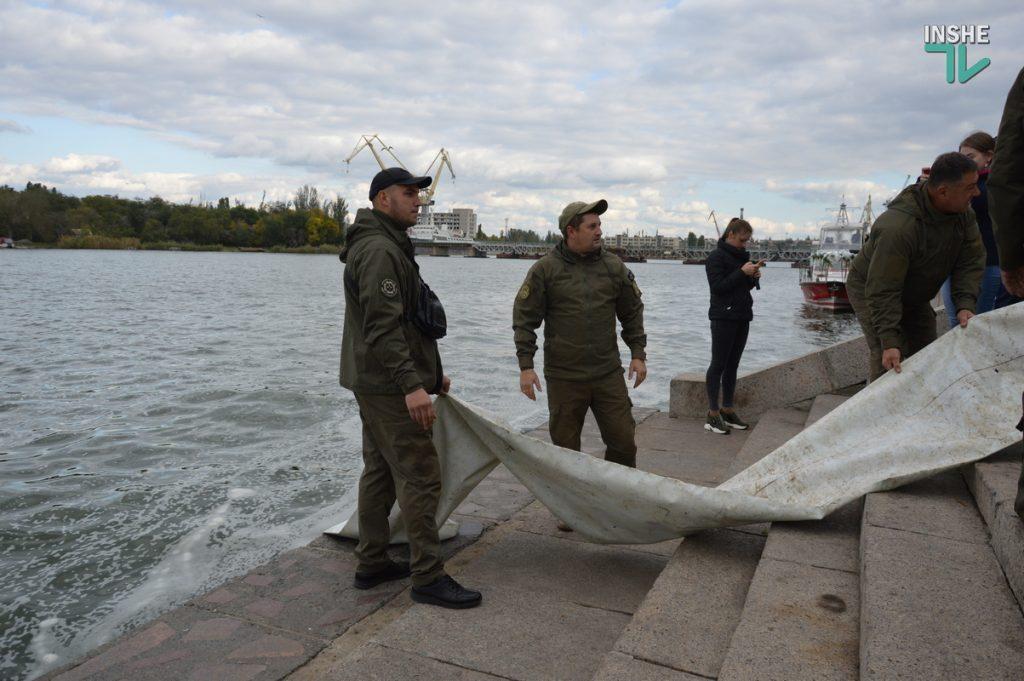 Зарыбление в Николаеве: в Южный Буг выпустили 255 тыс. экземпляров рыб (ФОТО и ВИДЕО) 11