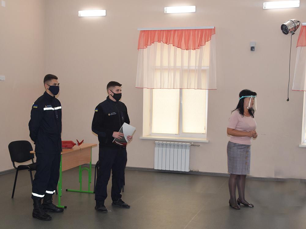 Спасатели Николаевщины проинструктировали учителей, что делать в случае пожара (ФОТО, ВИДЕО) 7