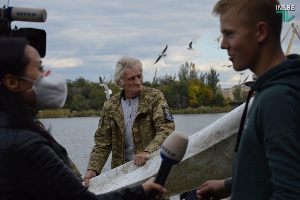 Зарыбление в Николаеве: в Южный Буг выпустили 255 тыс. экземпляров рыб (ФОТО и ВИДЕО) 33