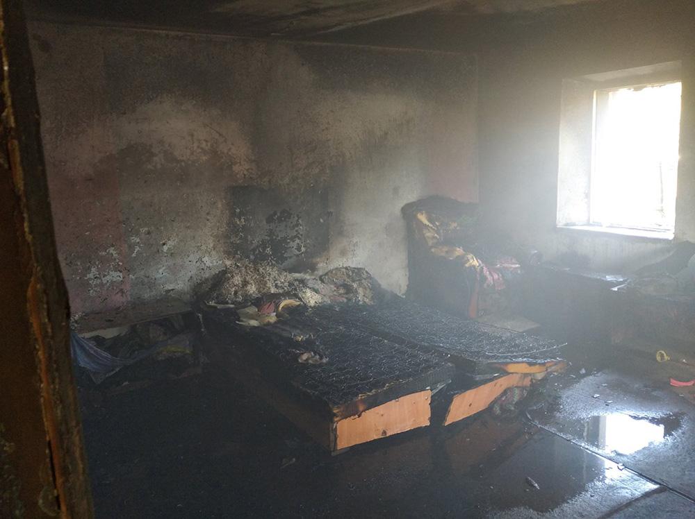 Неосторожность при курении привела к пожару во Врадиевке (ФОТО) 1