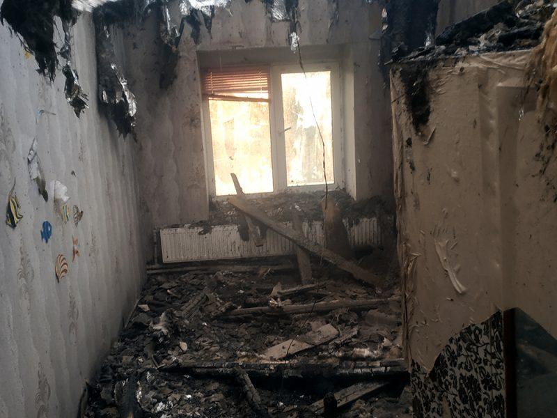 На Николаевщине горел жилой дом (ФОТО)