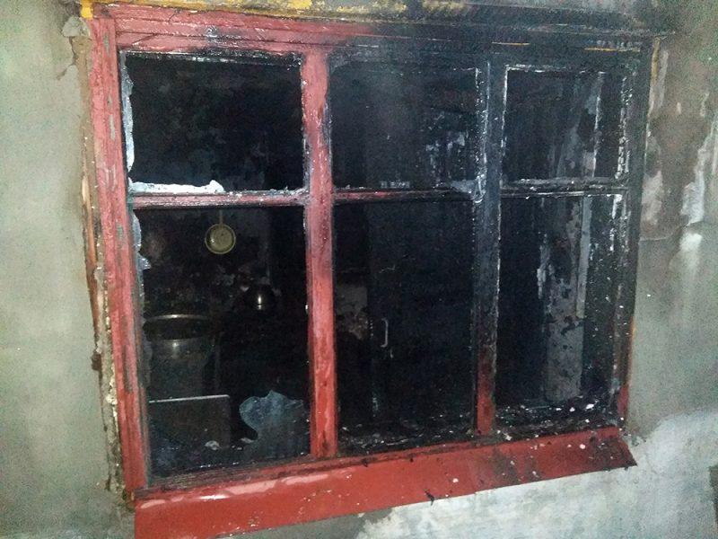 На Николаевщине двое человек получили ожоги при пожаре в Первомайске (ФОТО)