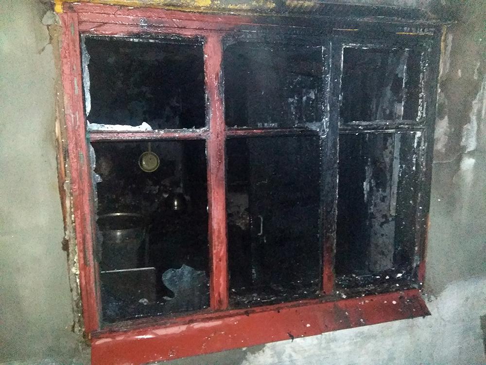На Николаевщине двое человек получили ожоги при пожаре в Первомайске (ФОТО) 3