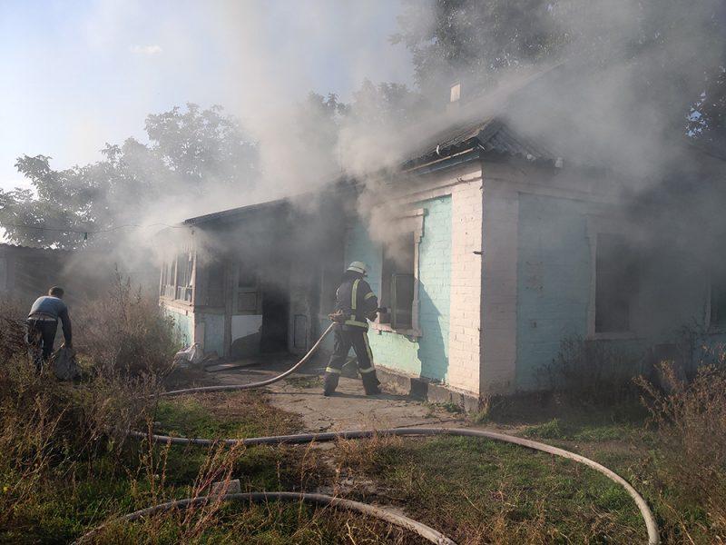 Неосторожность при курении привела к пожару во Врадиевке (ФОТО)
