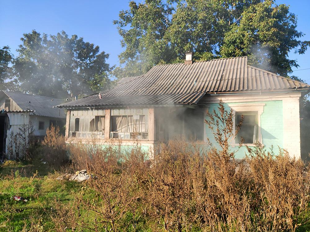 Неосторожность при курении привела к пожару во Врадиевке (ФОТО) 5