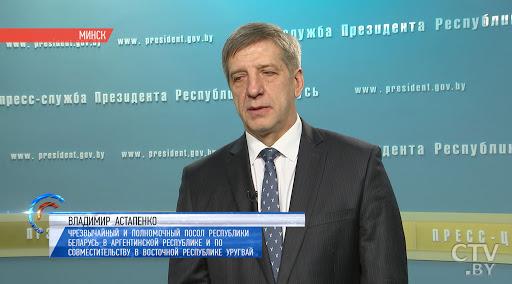 Посол Беларуси подал в отставку, потому что Лукашенко не имеет права выражать волю народа