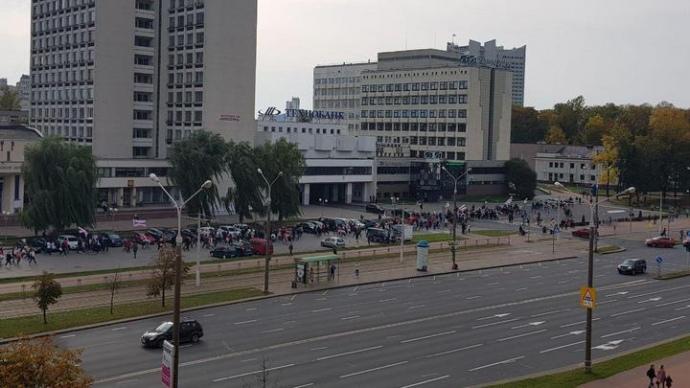 В Минске очередная акция протеста, начались задержания (ФОТО, ВИДЕО) 3