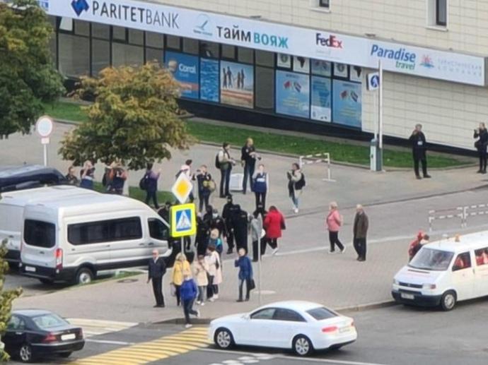 В Минске очередная акция протеста, начались задержания (ФОТО, ВИДЕО) 5