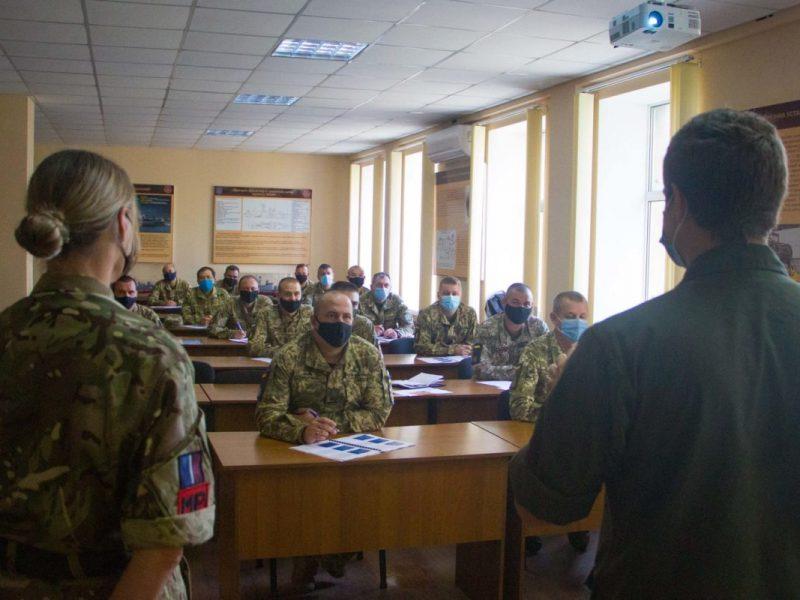 В Николаеве на британско-украинских учениях отрабатывают оборону аэродромов