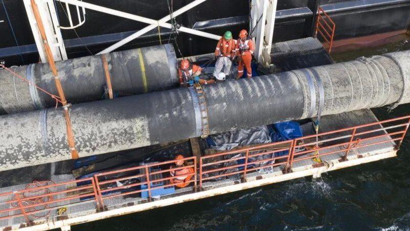 Дания дала разрешение оператору Северного потока-2 на работу газопровода
