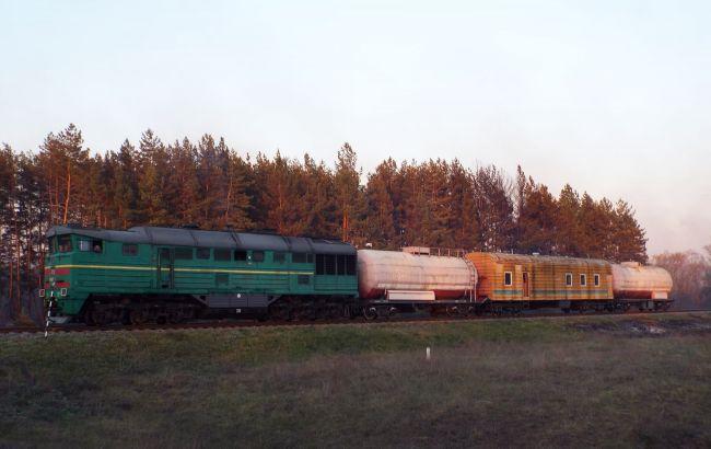 К тушению пожаров в Луганской области привлекли поезд