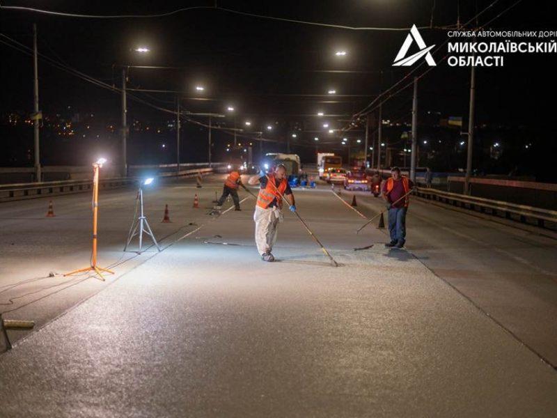 В Николаеве завершен ремонт разводной части Ингульского моста