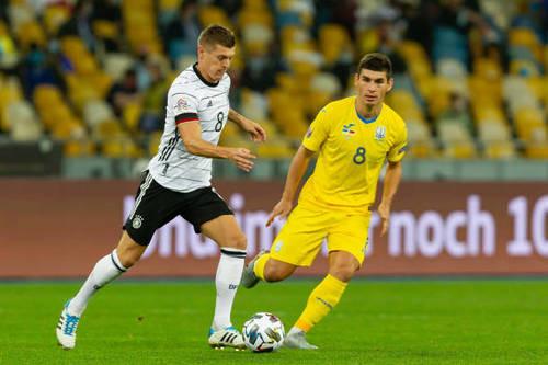 Сборная Украины уступила Германии в матче Лиги наций (ВИДЕО)