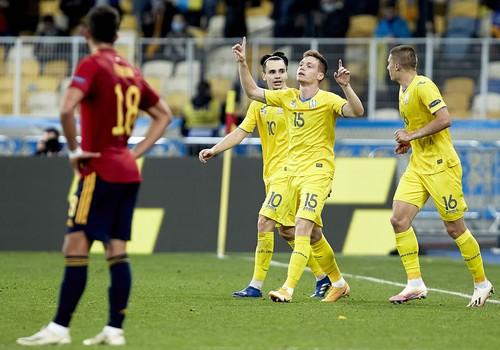 Сенсация на «Олимпийском»: сборная Украины с минимальным счетом обыграла испанцев (ВИДЕО)