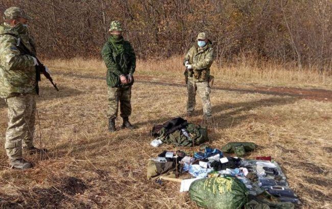 На границе в Луганской области россиянин попросил убежища в Украине