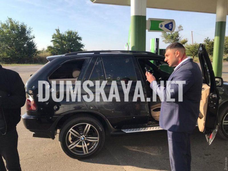 В Одесской области неизвестные подорвали машину кандидата в депутаты облсовета от «Батькивщины» (ВИДЕО)