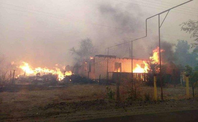 На газопроводе в оккупированном Луганске произошел взрыв