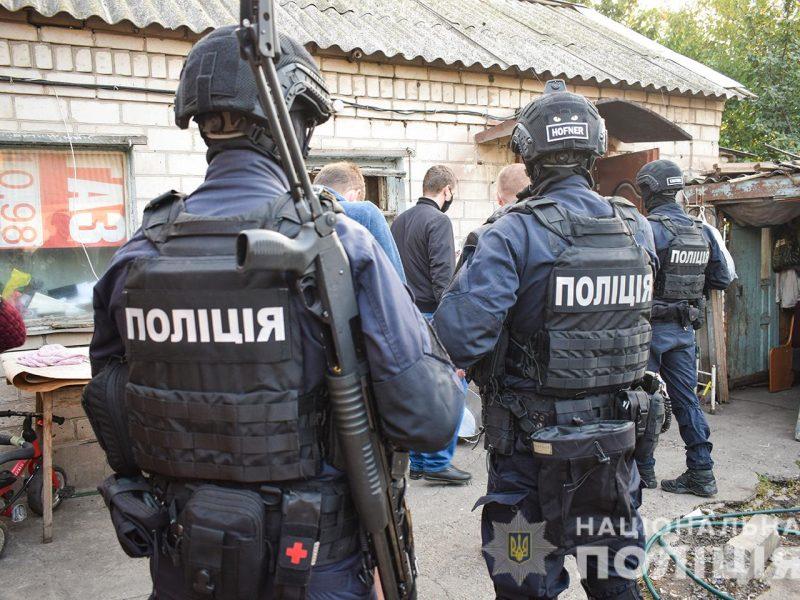 Николаевские полицейские в Запорожье обезвредили группу телефонных мошенников (ФОТО, ВИДЕО)