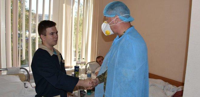 Выживший в авиакастрофе под Чугуевом курсант решил продолжить учебу (ВИДЕО)