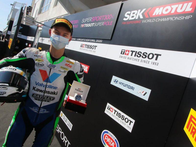 Украинец Никита Калинин стал первым в истории страны победителем гонки Суперпоул по Супербайку