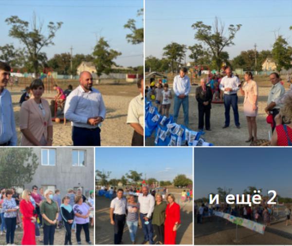 На Николаевщине нардепы от «Слуги народа» вместе с кандидатами в депутаты используют бюджетные проекты для пиара (ФОТО)
